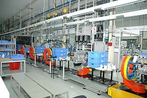 state-of the-art engine assembly plant at Maramalai Nagar, Chennai