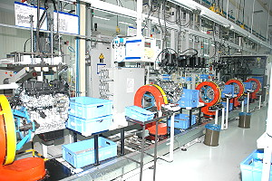 state-of the-art engine assembly plant at Maramalai Nagar, Chennai , for use in the popular midsize Ford Fiesta and Ford Fusion product lines.