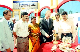 Dr. Thomas Dahlem, Technical Director, Volkswagen India- Auto Cluster Exhibition Centre