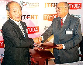 NK Dhand- Japan's JTEKT and Micromatic Grinding establish a new joint venture company