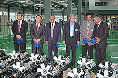 Mitsubishi - VST JV commissions Diesel Engine Manufacturing Plant in Mysore
