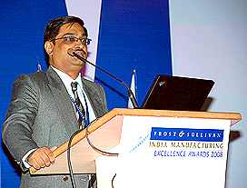 Raghavendra Rao, Director, Manufacturing and Process Consulting Practice, Frost & Sullivan, South Asia and Middle East
