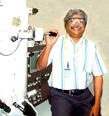 Dr Abhinanda Sarkar, quality leader in John F Welsh Technology Centre , GE India