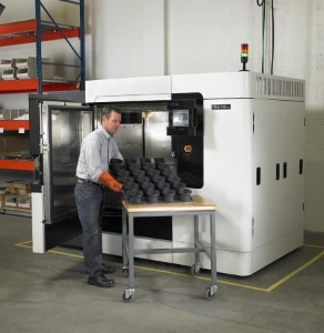 Stratasys introduced a new additive fabrication machine, designed specifically for direct digital manufacturing (aka rapid manufacturing)